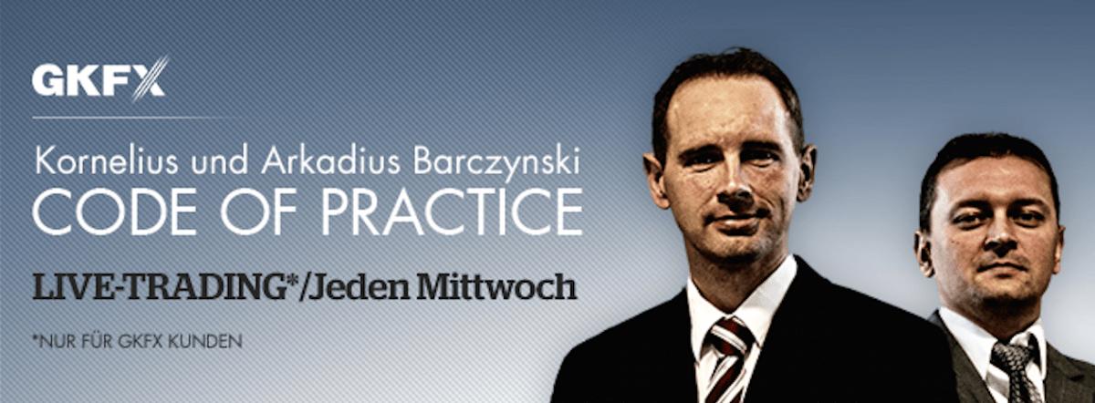 Lifetrading mit Arkadius und Kornelius Barczynski jeden Mittwoch - So traden zwei Brüder life bei GKFX