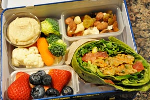 Packed meal