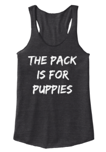 The Pack is for Puppies_broke single mom fitness