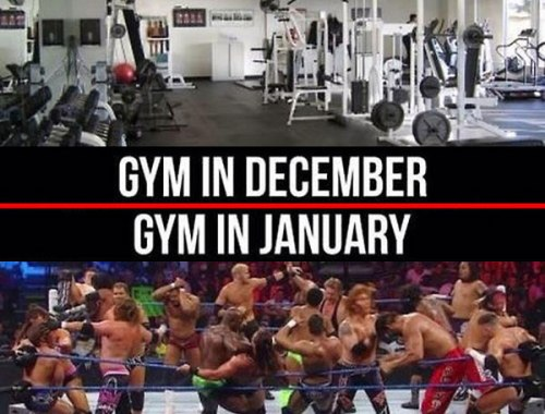 A Word for New Year's Gym Goers