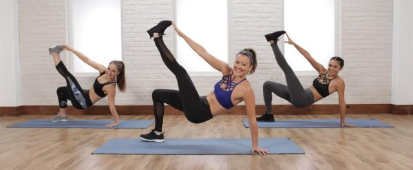 Go to PopSugar's fitness videos page