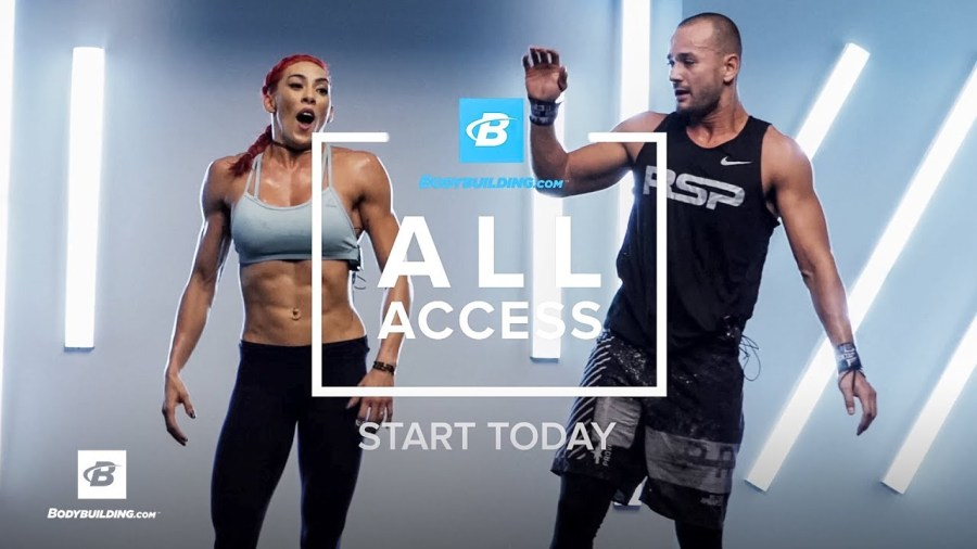 bodybuilding all access exercise plans
