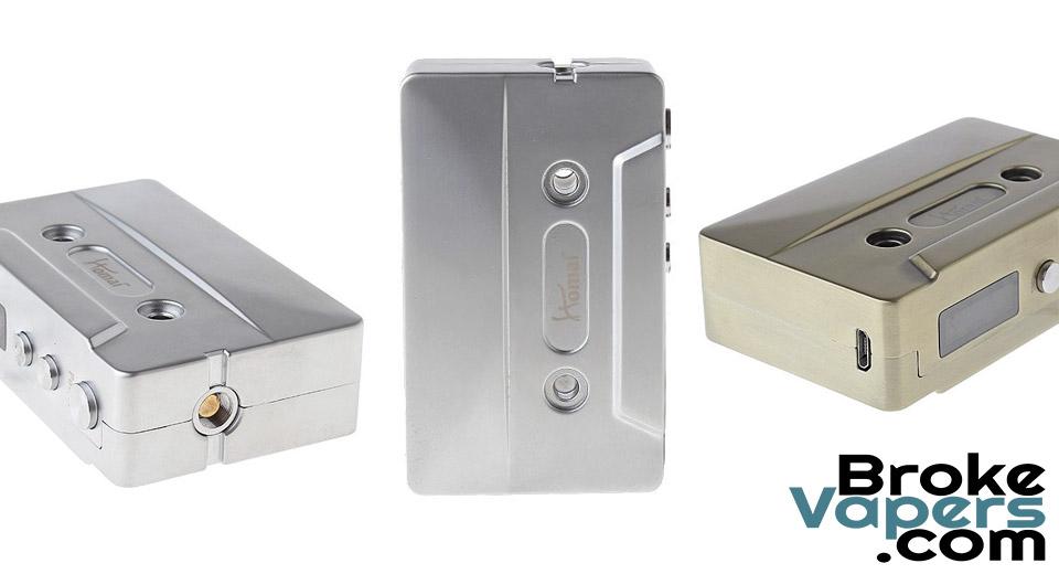 Homai Cassette 50W Box Mod