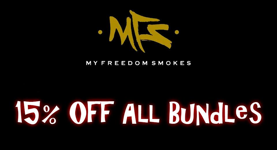 My Freedom Smokes - 15% Off All Bundles
