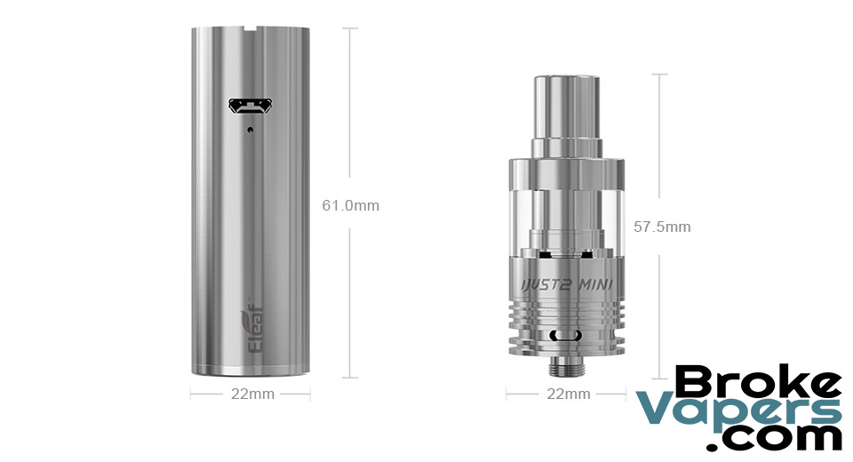 Authentic Eleaf iJust 2 Mini Kit