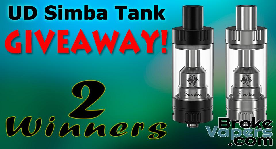 UD Simba Tank Giveaway