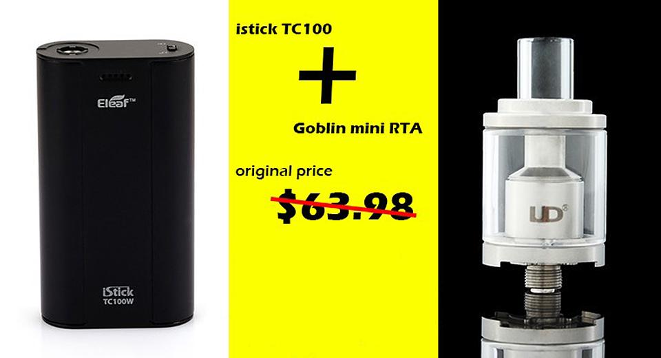 Eleaf iStick TC100W & UD Goblin Mini RTA