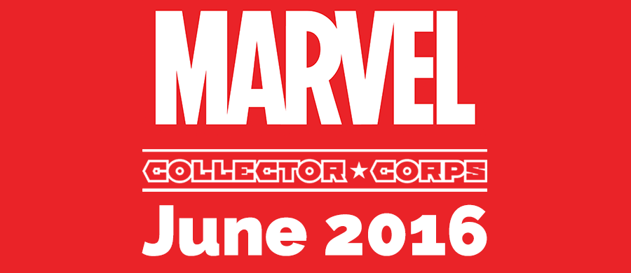 Marvel Collector Corps June 2016 – Marvel Collector Corps Subscription Box