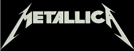 metallica sigla brodata