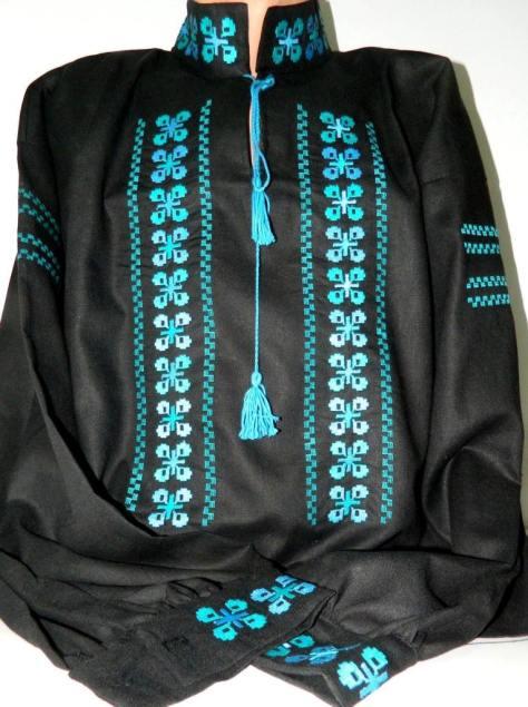 camasi-negre populare-barbati