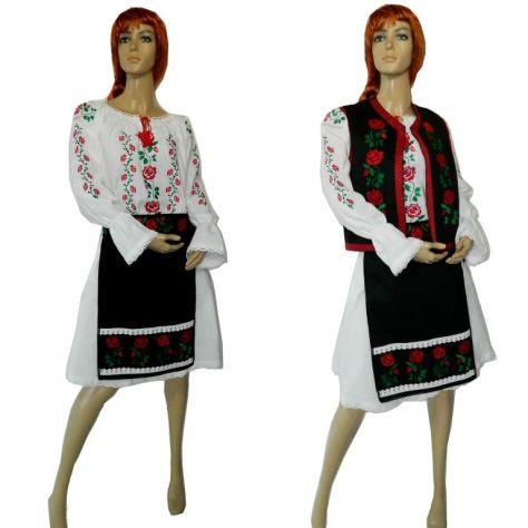 traditii romanesti haine