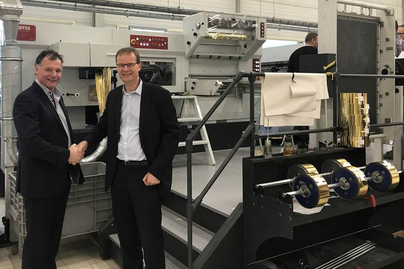 Romeyn investeert in Starfoil 106-HS machine voor warmdrukfolie