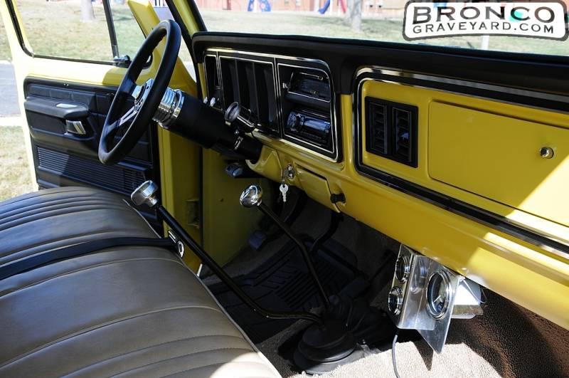 New Ford Bronco Interior