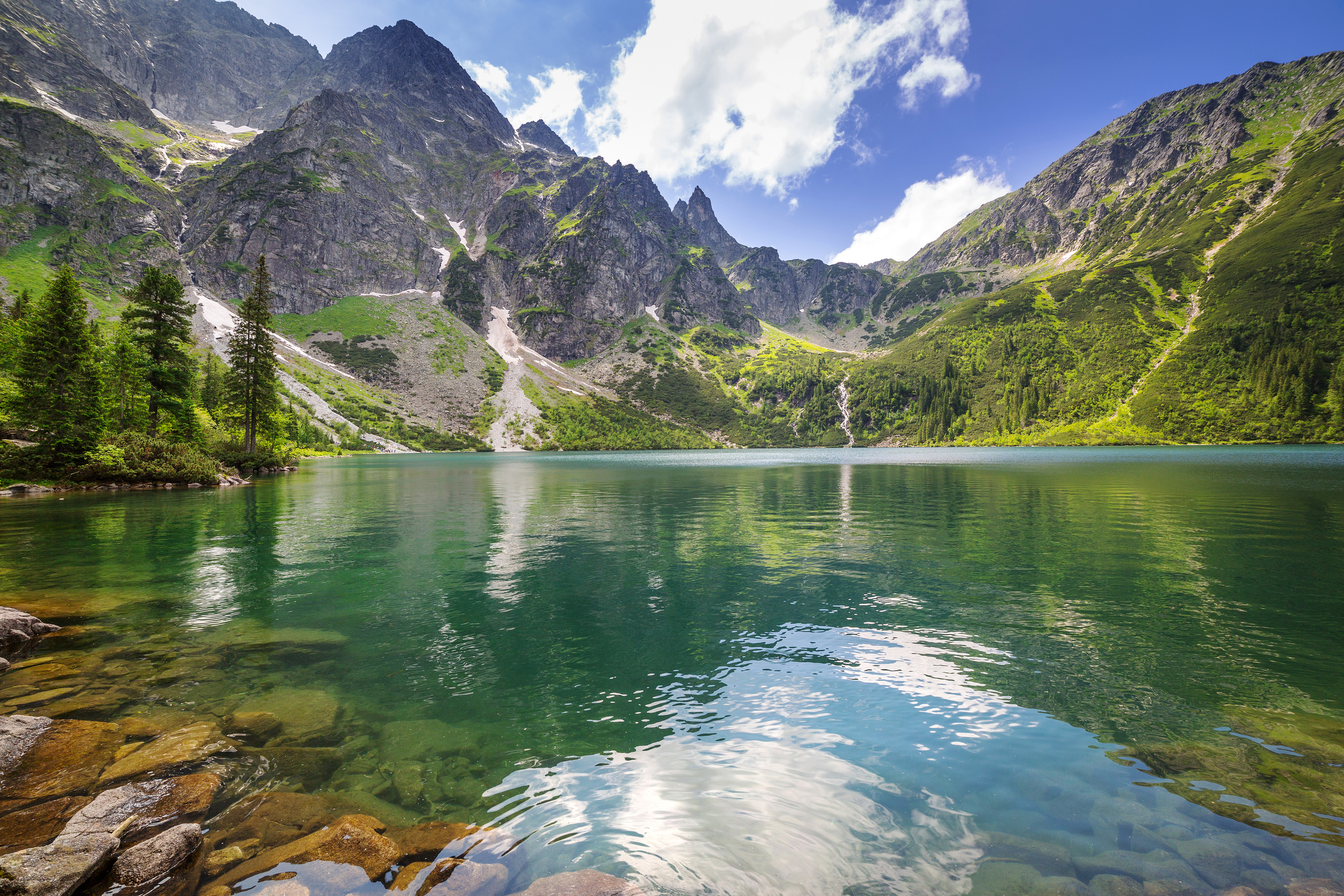 Morskie Oko Lake in Polish Tatras