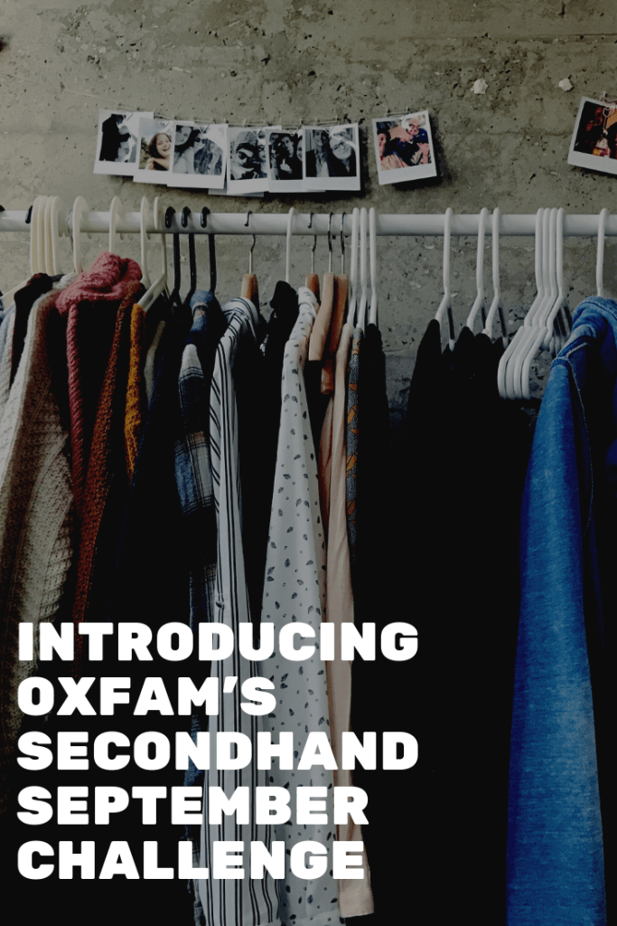 Could you pledge to not buy anything new for a whole month? Join the #SecondhandSeptember challenge.