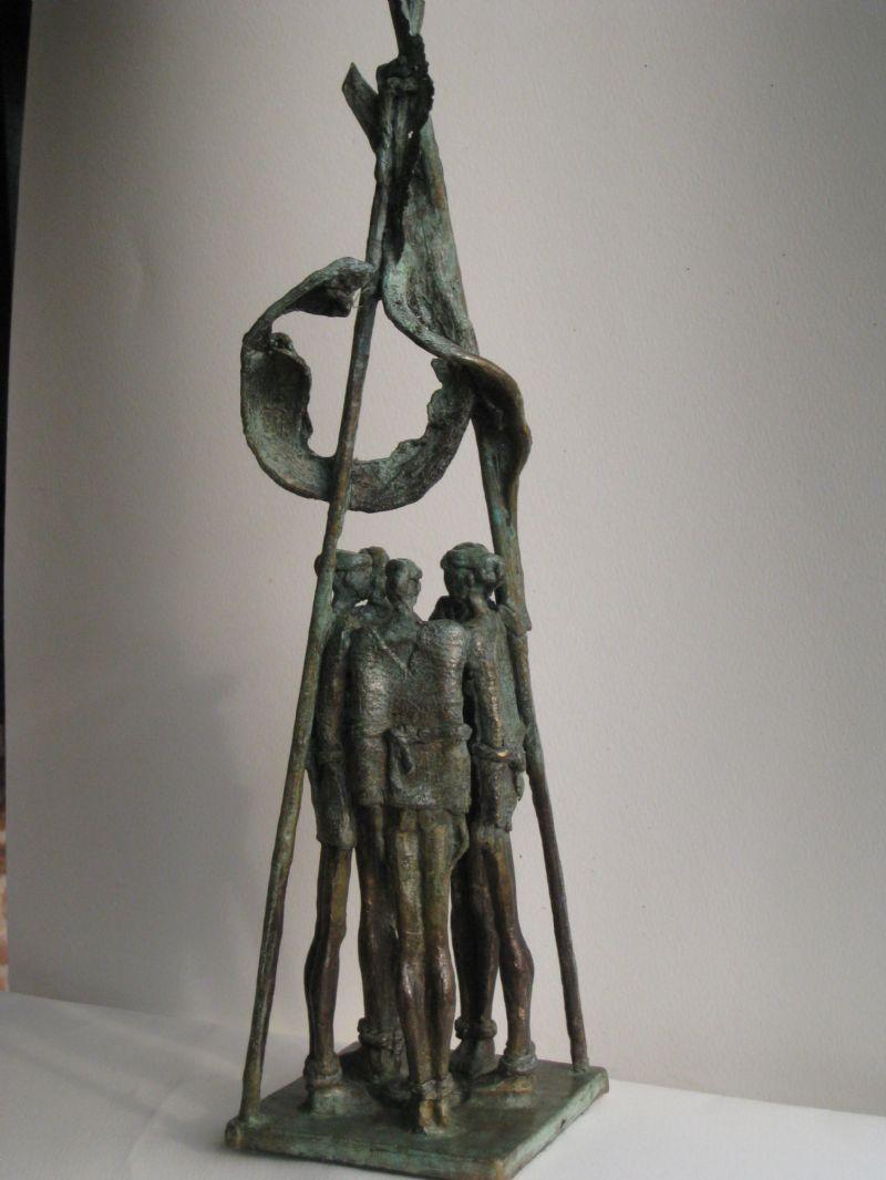 """Bronzen beeld """"Innercircle"""", Collectie """"Connected"""""""
