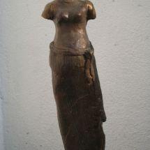 Bronzen beeld GAIA, Sophia serie - spiritueel, Sophia, wijsheid, beschutting.