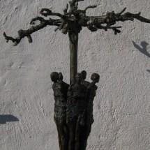 Bronzen beeld RONDOM 5
