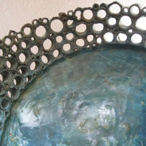 Bronzen Jutte-Dish.
