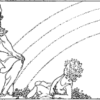 Lokes och Heimdalls kamp på Singastenen