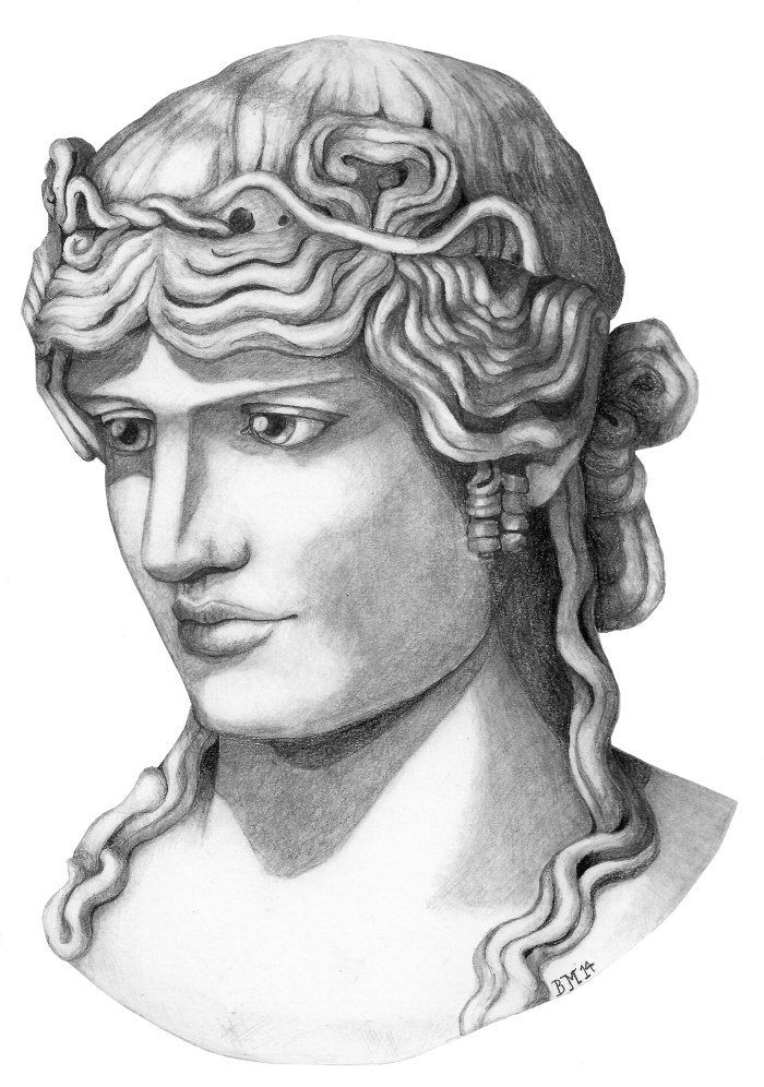 Antinous Mondragone by Bronwen MacDonald (2014)