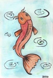 Koi-Watercolour