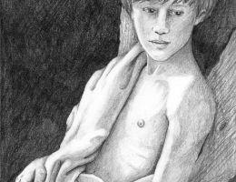Young Bacchus by Bronwen MacDonald (2014)