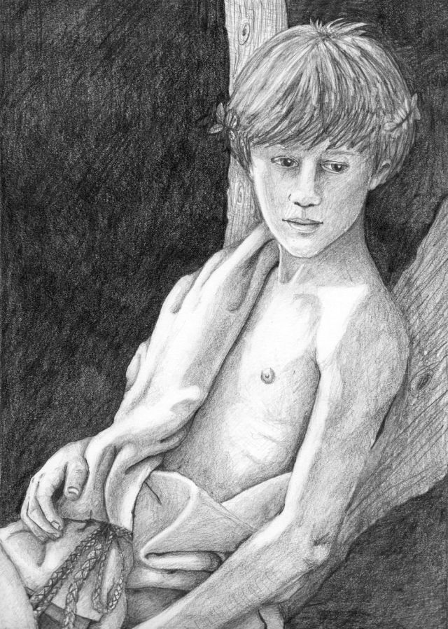 Young Bacchus by Bronwen MacDonald (2014)