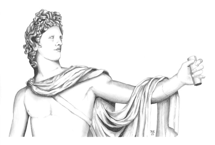 Apollo Belvedere by Bronwen MacDonald (2015)