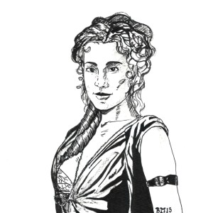Day 3: Gaia from Spartacus