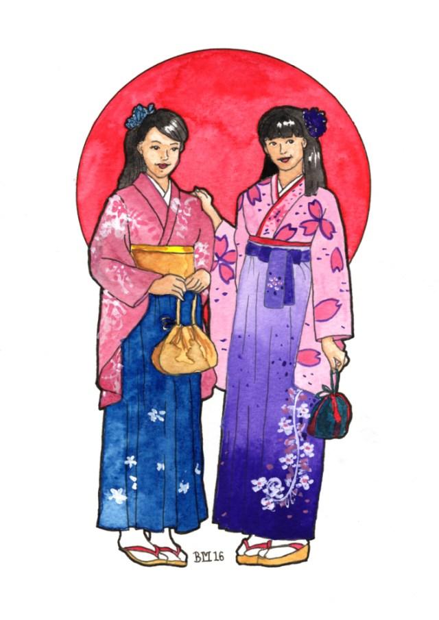 Japan Friends by Bronwen MacDonald (2016)