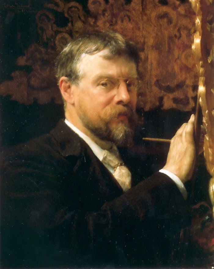 Self-Portrait by Sir Lawrence Alma-Tadema