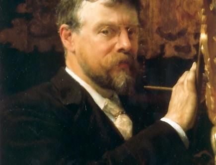 Self-Portrait by Sir Lawrence Alma-Tadema