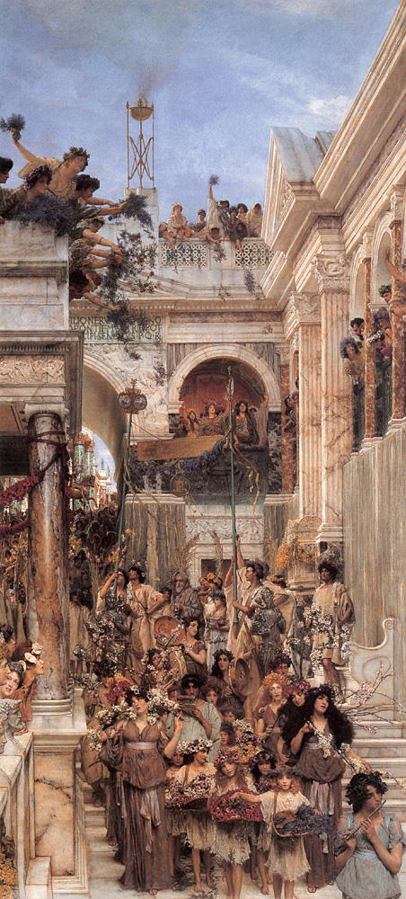 Spring by Sir Lawrence Alma-Tadema (1894)