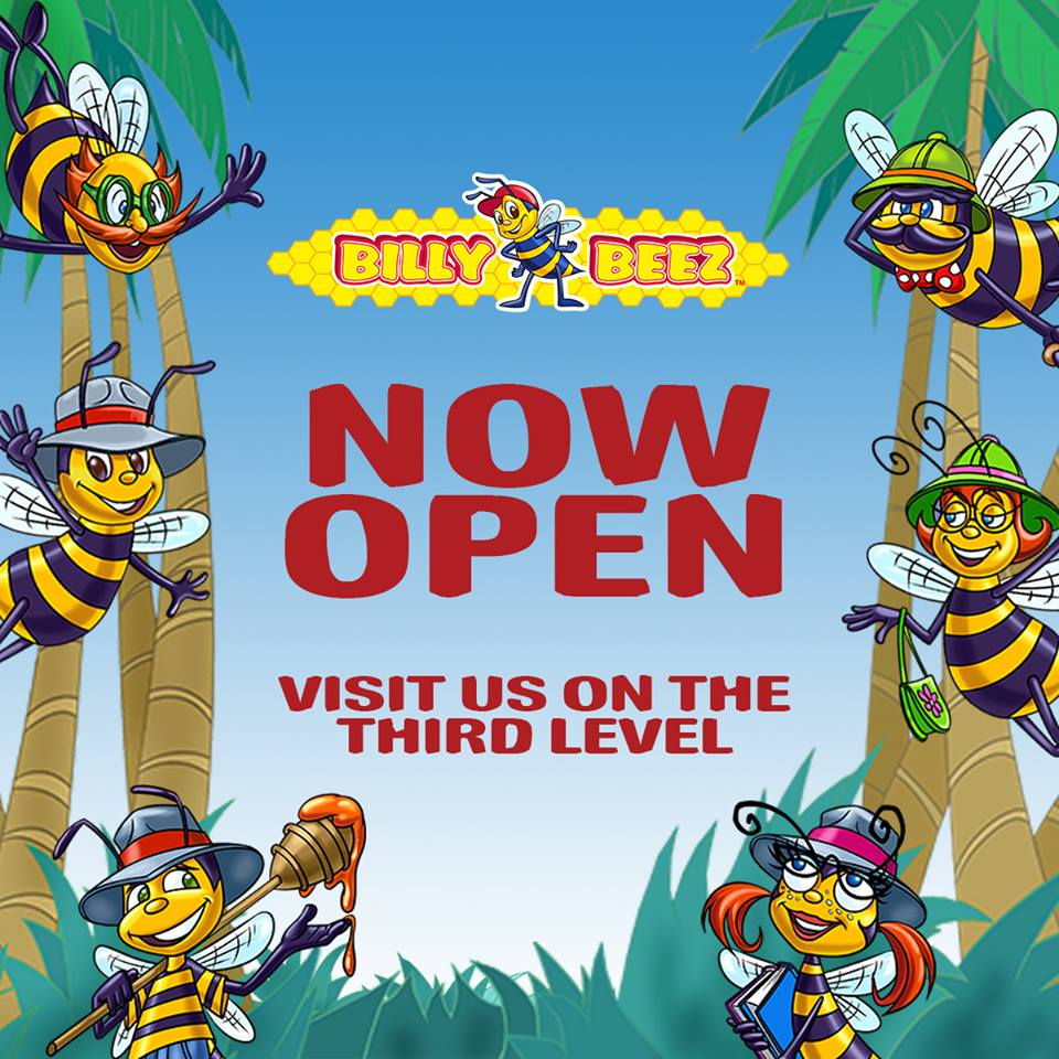 Billy Beez Opens In The Mall At Bay Plaza