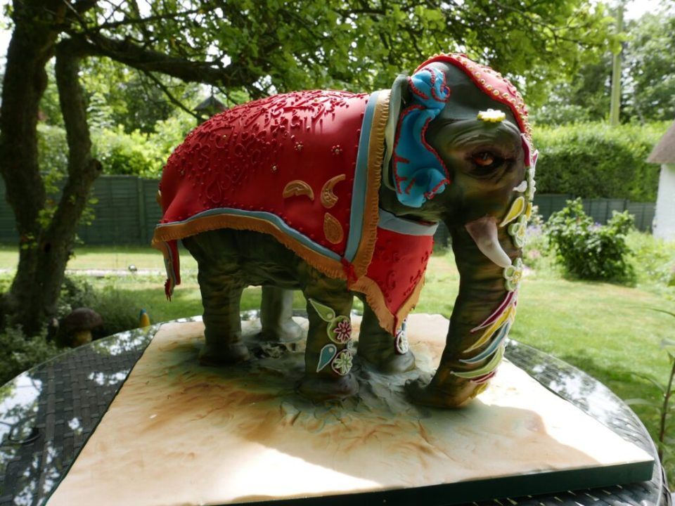 gallery sculpted elephant cake