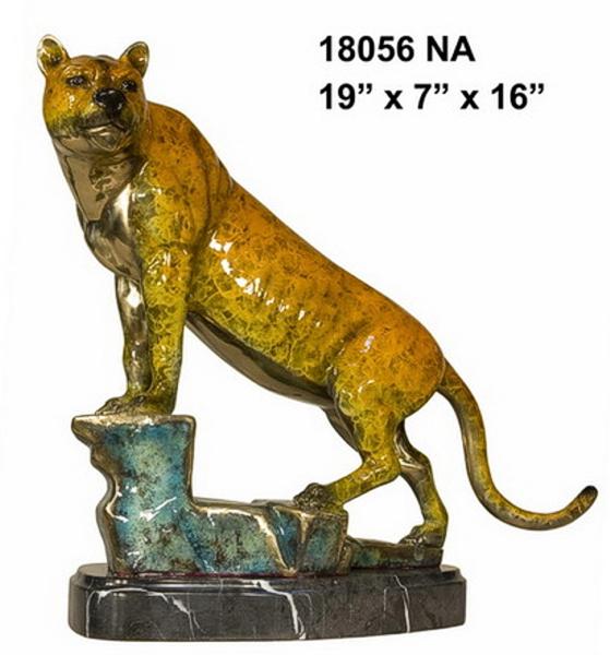 Bronze Puma Statues