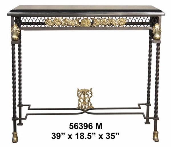 Bronze Console Table