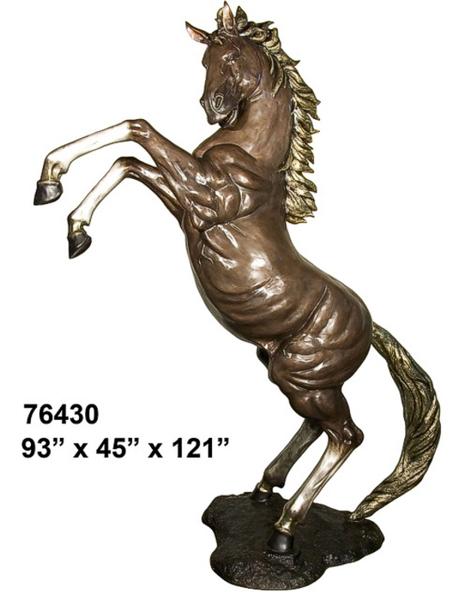 Bronze Stallions School Mascot