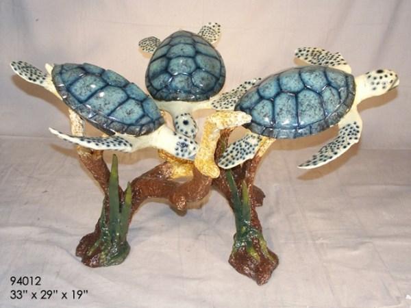 Bronze Turtle Table