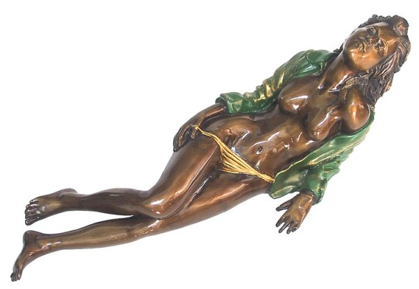 Bronze Erotic Nude Sculpture