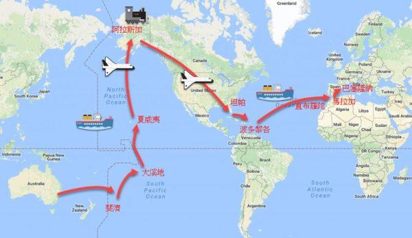 環遊世界100天 如何規劃三 小資族非背包客玩法