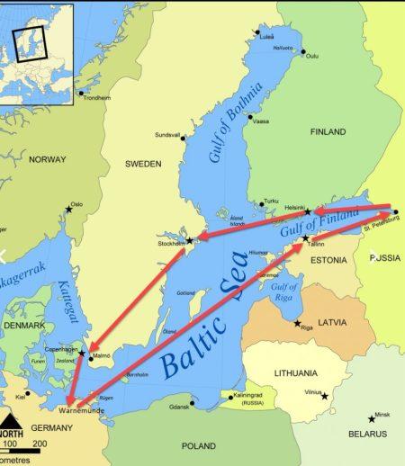 北欧波罗的海、圣彼得堡邮轮10日游 【上】