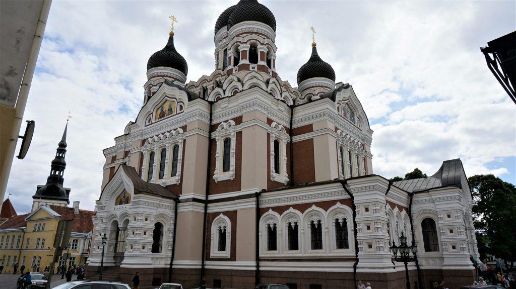 2019北歐郵輪清艙 - 愛沙尼亞塔林東正教教堂