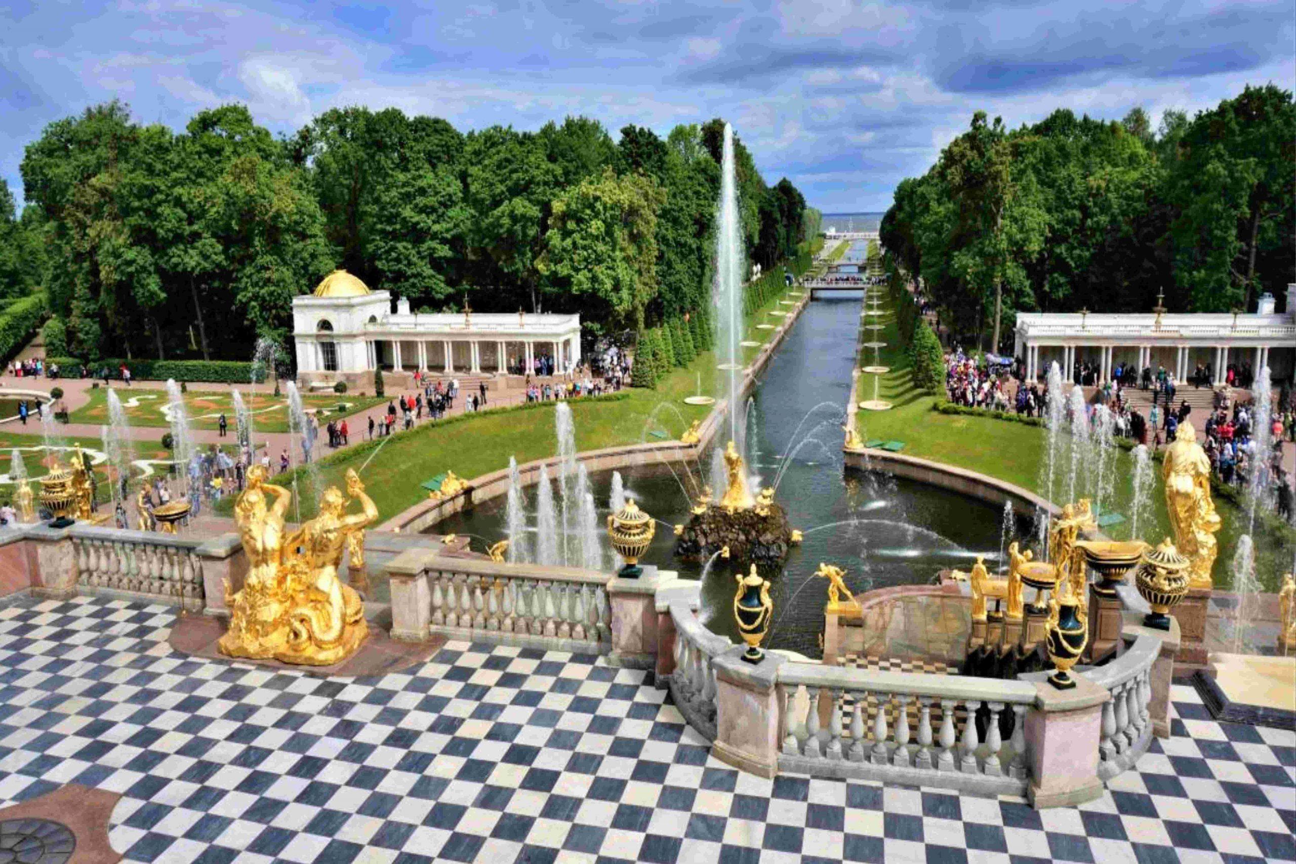 郵輪航線 - 聖比得夏宮及花園 (俄羅斯的凡爾賽宮)