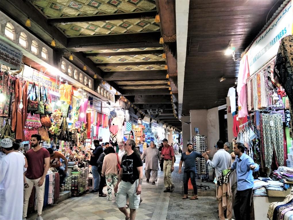 阿曼馬斯喀特一日遊 - 馬托拉傳統市集
