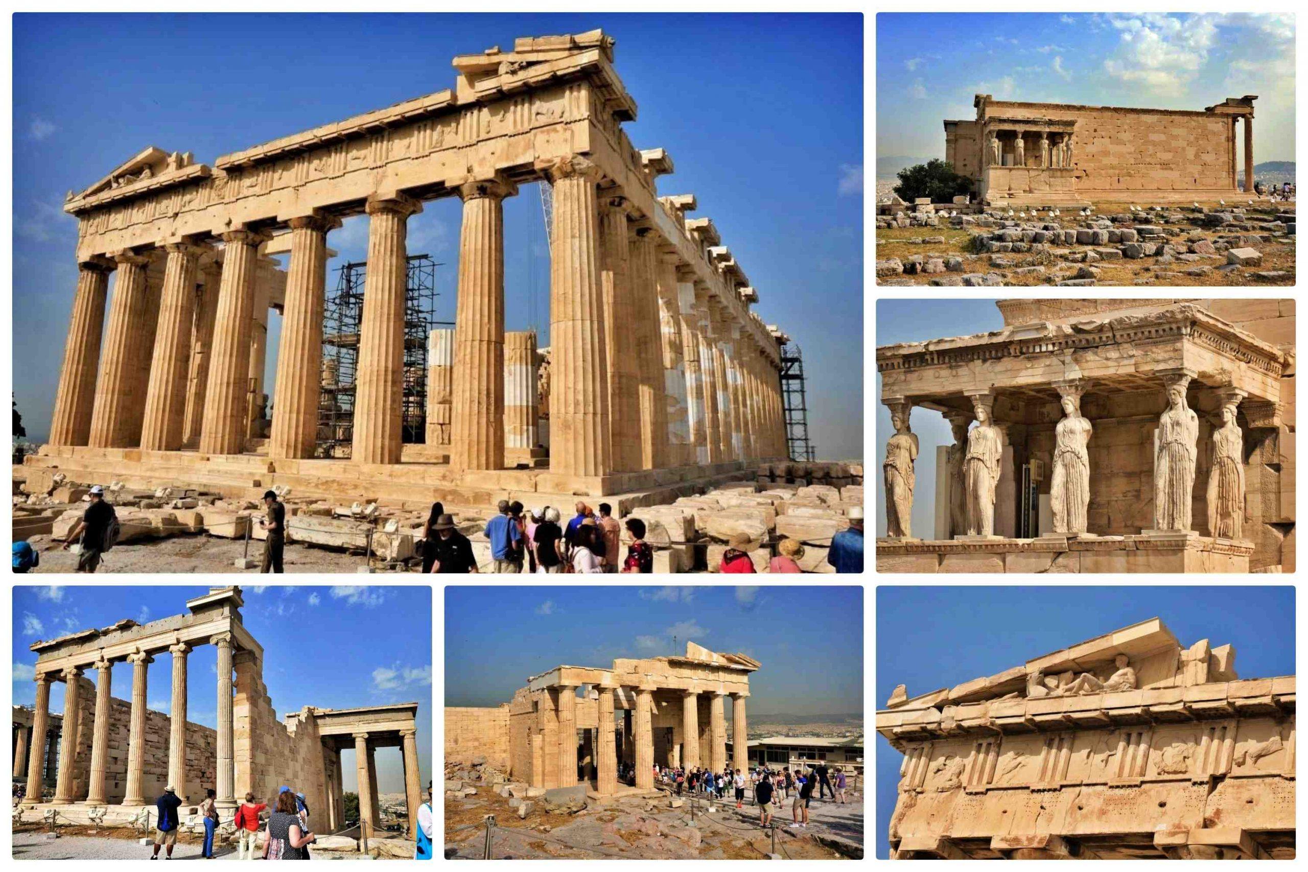 希臘雅典一日遊 - 雅典衛城