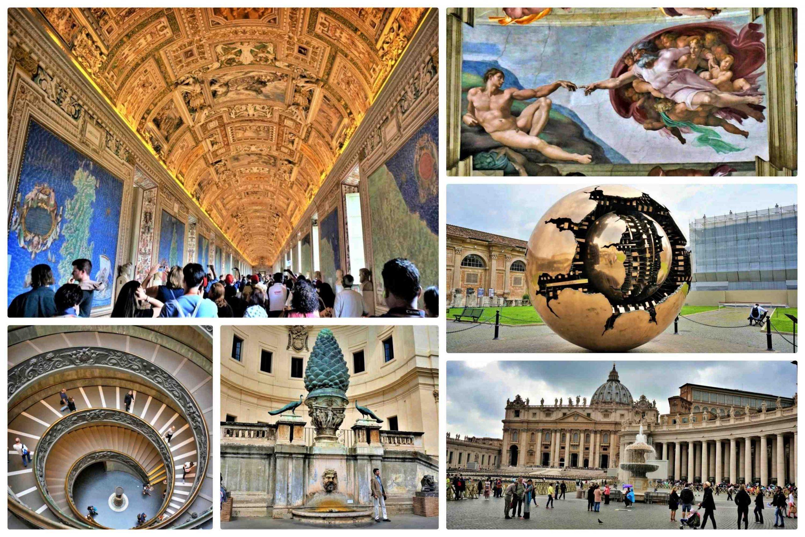 羅馬一日遊 - 梵蒂岡博物館