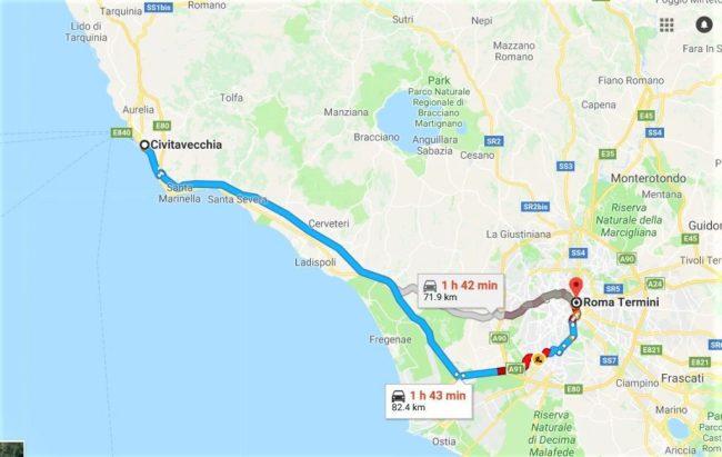 羅馬一日遊 郵輪停靠Civitavecchia奇維塔韋基亞行程建議