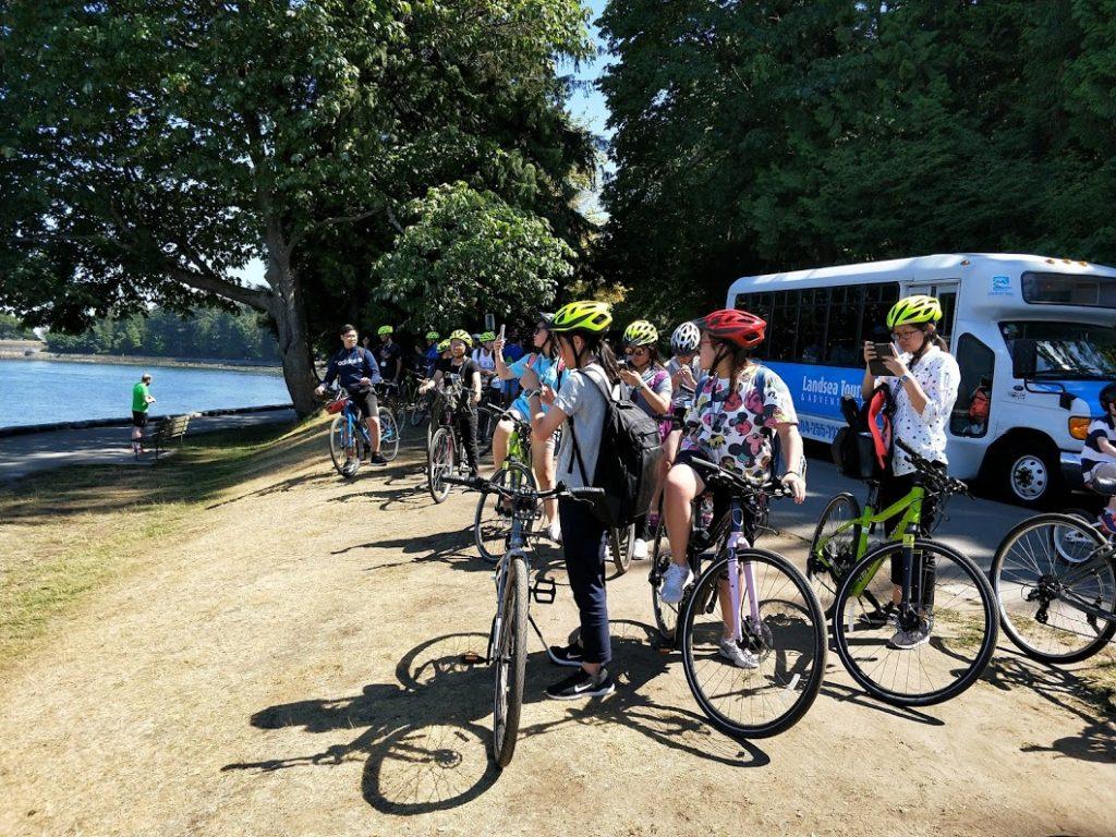 史丹利公園騎腳踏車